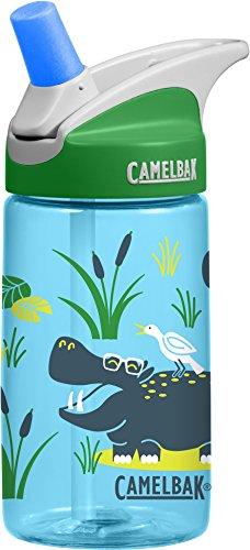 CamelBak Kinder Eddy .4L Trinkflasche, Hip Hippos, 0.4 Liter