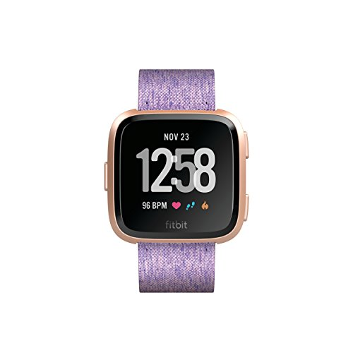 Fitbit Versa Special Edition Health & Fitness Smartwatch, lavendel, One Size, FB505RGLV-EU