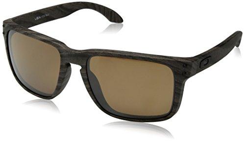 Oakley Herren Holbrook Xl 941706 Sonnenbrillen, Woodgrain/Prizmtungstenpolarized, 59
