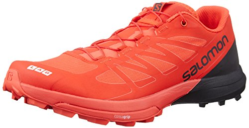 Salomon Unisex-Erwachsene S/Lab Sense 6 SG Traillaufschuhe, Rot (Racing Red/Black/White 000), 43 1/3 EU