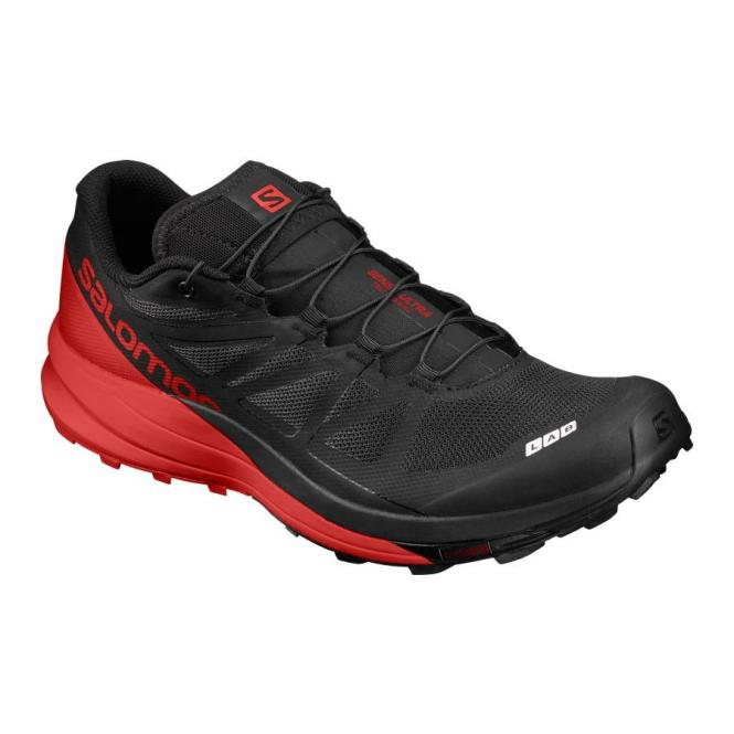 Salomon S-LAB Sense Ultra Laufschuh black-red