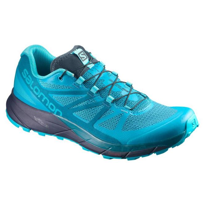Salomon Sense Ride Damen Laufschuh blue