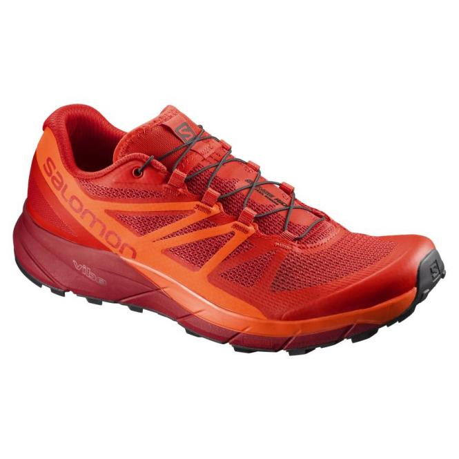 Salomon Sense Ride Herren Laufschuh red