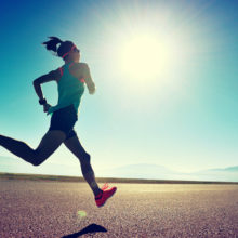 Schienbeinschmerzen nach Laufen