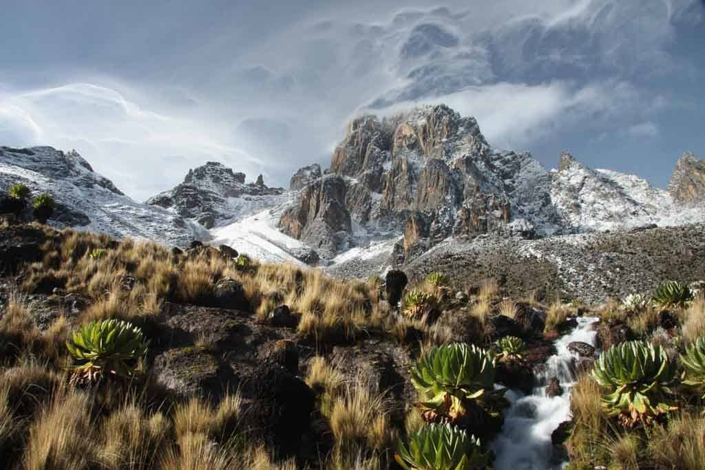 schönsten Berge zum Bergsteigen in Afrika