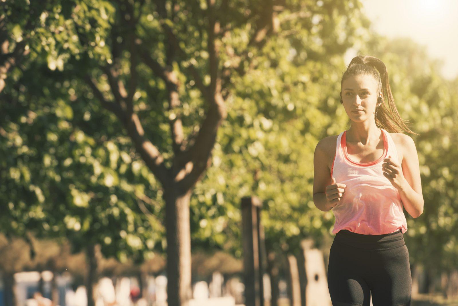 Principiante corriendo