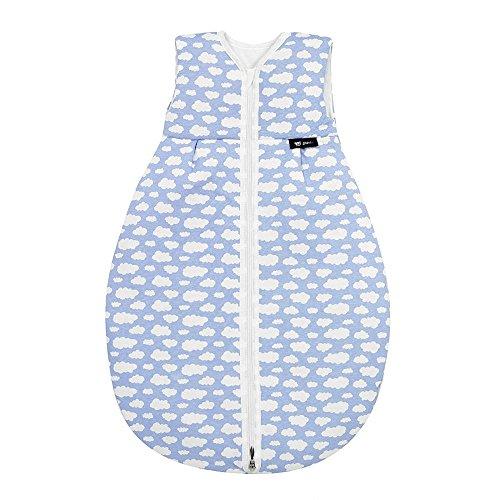 Alvi Mäxchen Light Daunenschlafsack Baby Wolke blau 110cm