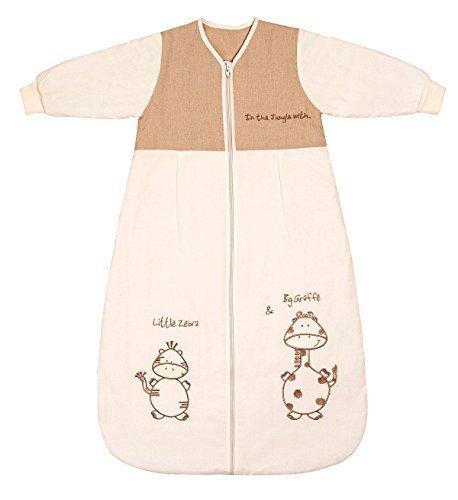 Schlummersack Baby Winter Schlafsack Langarm 3.5 Tog 110cm/12-36 Monate - Giraffe