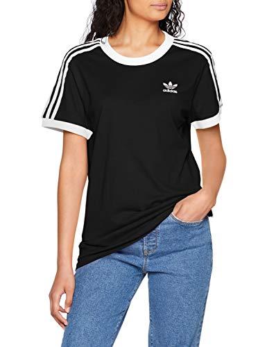 adidas Damen 3 Stripes_CY4751 T-Shirt, Schwarz (black), 38