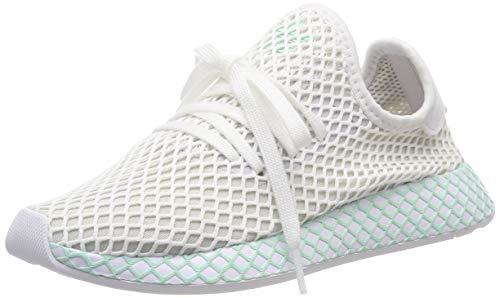 adidas Damen Deerupt Runner W, Laufschuhe, Weiß (Ftwr White/Grey One F17/Clear Mint Ftwr White/Grey One F17/Clear Mint), 39 1/3 EU (6 UK)
