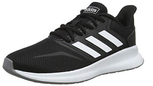 adidas Damen Falcon Laufschuhe, Schwarz (Core Black/Footwear White/Grey 0), 38 EU