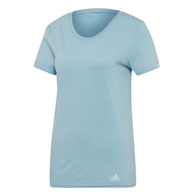 adidas Damen INT ) / Runningbekleidung (Hellblau / L;M;S;XL;XS) - Runningbekleidung