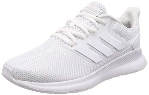 adidas Damen RUNFALCON Laufschuhe, Weiß Footwear White/Core Black 0, 40 EU