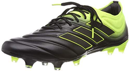 adidas Herren COPA 19.1 FG Fußballschuhe Schwarz (Solar Yellow/Core Black), 45 EU