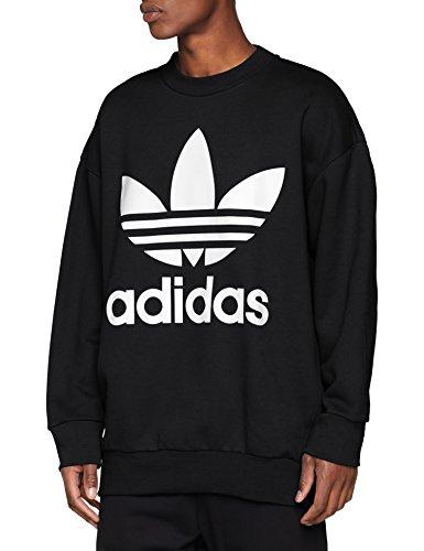 adidas Herren Oversize Trefoil Sweatshirt, schwarz (Black), 2XL