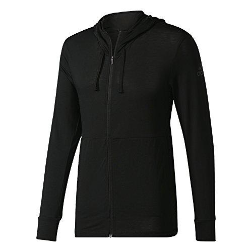 adidas Herren Workout Fullzip Lite Jacke, Black, XL