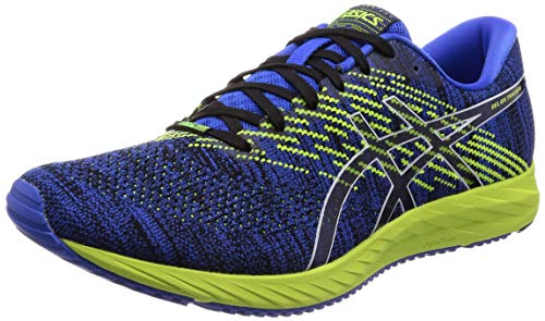 ASICS Herren Gel-DS Trainer 24 Laufschuhe, Blau (Illusion Blue/Black 400), 44.5 EU