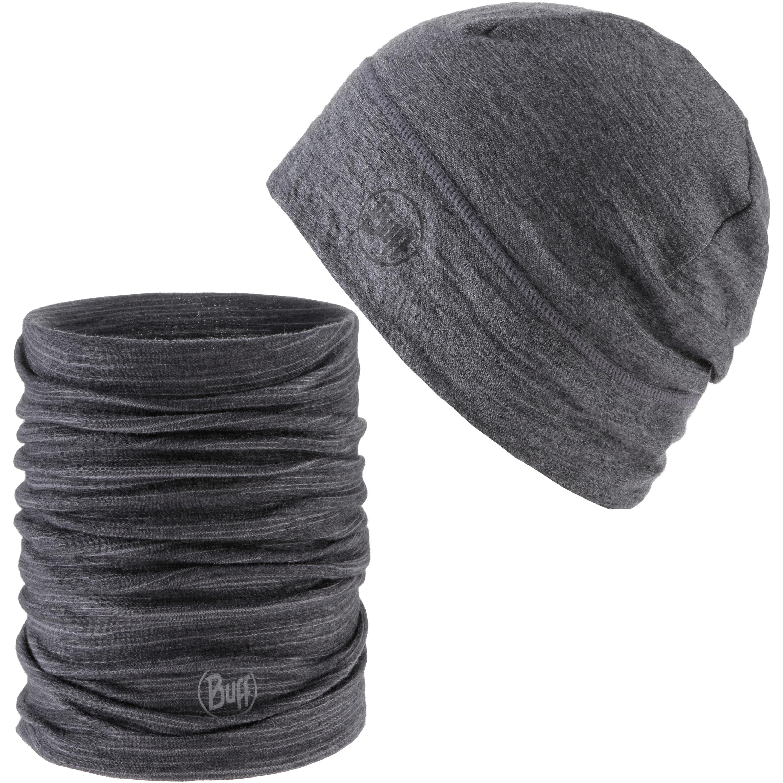 BUFF MERINO Set aus Mütze und Schal