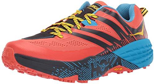 Hoka One One Herren Speedgoat 3 Trailrunning Schuhe orange 43 1/3