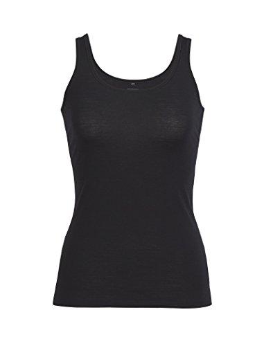 Icebreaker Damen Funktionsshirt Siren Tank, Black, M, 103213001