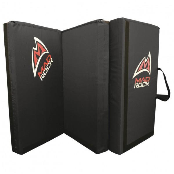 Mad Rock - Triple Mad Pad - Crashpad schwarz