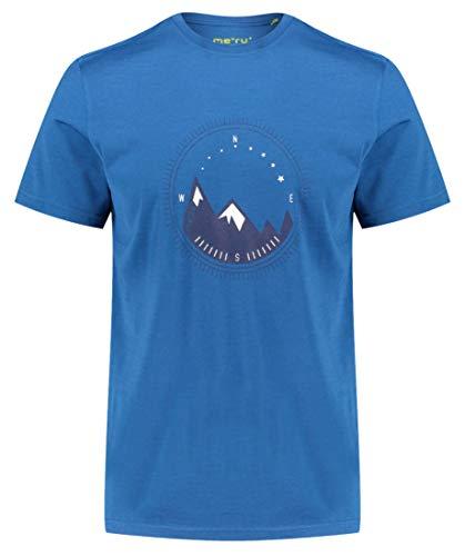 Meru Herren Funktionsshirt Tumba Merino blau (296) L