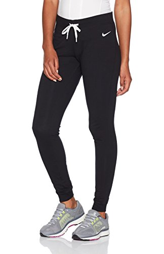 Nike Damen Hose Jersey Cuffed, schwarz/weiß, M, 617330