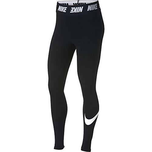 Nike Damen Sportswear Club High-Rise Leggings, Black/White, S