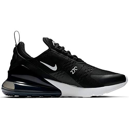 Nike Damen W AIR MAX 270 Laufschuhe, Schwarz (Black/Anthracite/White 001), 39 EU
