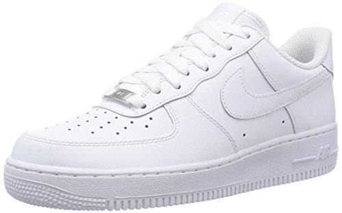 Nike Herren Air Force 1 '07 Sneakers, Weiß, 43 (US 9.5)