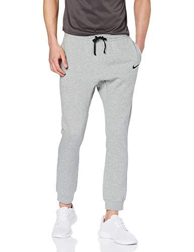 Nike Herren M CFD FLC TM CLUB19 Pants, Dk Grey Heather/Black, L