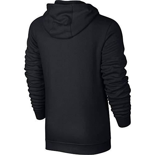 Nike Herren M Nsw Club Hoodie Fz Bb, Schwarz (Schwarz/Weiß), L