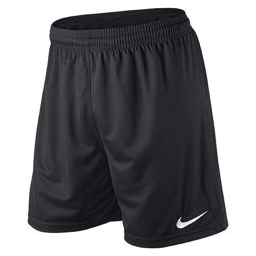 Nike Herren Park II Knit Shorts ohne Innenslip, Schwarz (Schwarz/Weiß/010), Gr. S