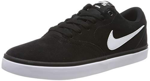 Nike Herren SB Check Solarsoft Skateboardschuhe, Schwarz (Black/White 001), 42 EU