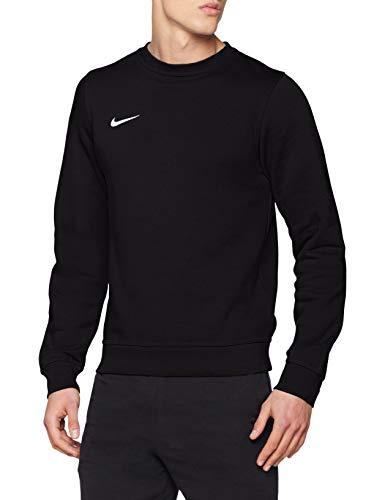Nike Herren Sweatshirt Team Club Crew, Schwarz(black/football white), M