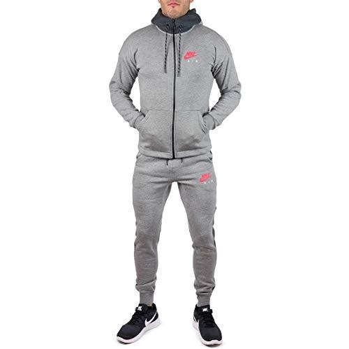 Nike Herren Trainingsanzug Grau grau Gr. L, grau