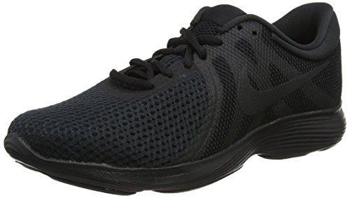 Nike Nike Revolution 4 Eu, Herren Laufschuhe, Schwarz (Black/Black 002), 46 EU (11 UK)