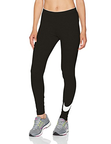 Nike W NSW Club logo2 Damen Leggings, Schwarz(Black/White/010), Gr. S