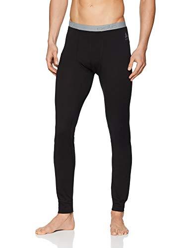 Odlo Herren SUW Bottom Pant Natural 100% Merino Unterhose, Black, M