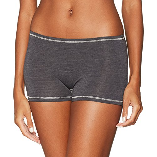 Skiny Damen Active Wool Women Pant Sportunterhose, Grau (Anthracite Melange 4676), 36