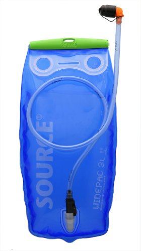 Platz 1: Source Widepac Trinkblase, 3 Liter